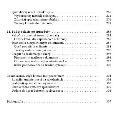 Spis treści Sprzedaż Iza Krejca-Pawski 4