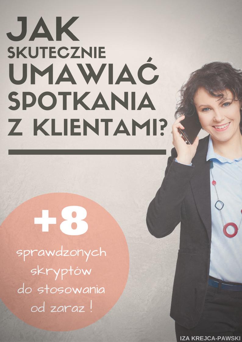 Ebook Jak skutecznie umawiać spotkania przez telefon Iza Krejca Pawski