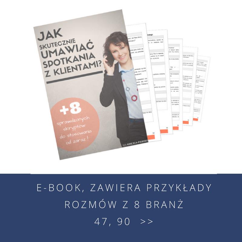 Ebook Jak skutecznie umawiac spotkania z klientami. Iza Krejca-Pawski