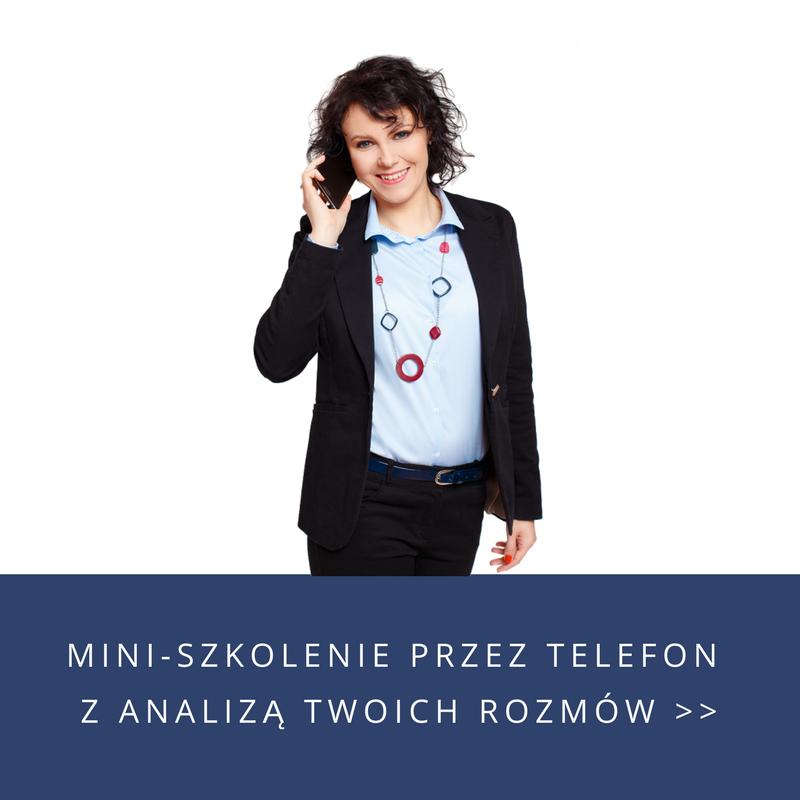 Mini-szkolenie przez telefon z analizą Twoich rozmów