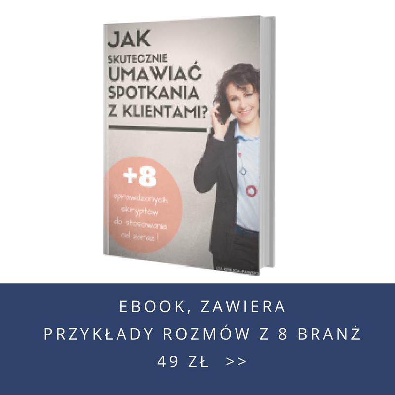 Ebook Jak skutecznie umawiać spotkania z klientami