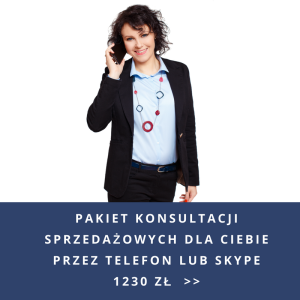 Pakiet konsultacji sprzedażowych przez telefon lub Skype