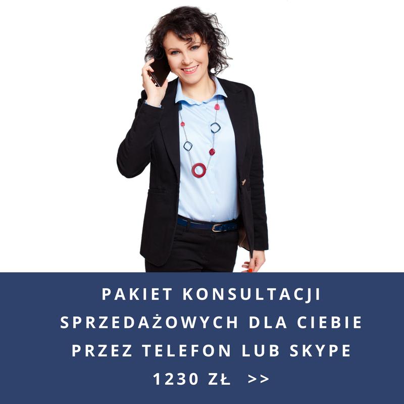 Konsultacje sprzedażowe przez telefon lub Skype
