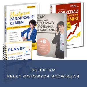 Sklep IKP Pełen gotowych rozwiązań ebooki książki kurs on line Iza Krejca-Pawski
