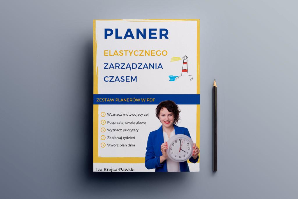 Planer Elastycznego Zarządzania Czasem Iza Krejca-Pawski
