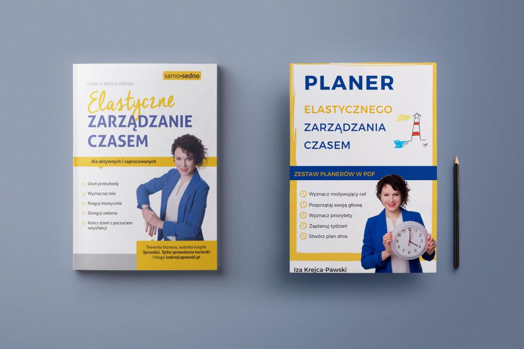 Książka i Planer Elastyczne Zarządzanie Czasem
