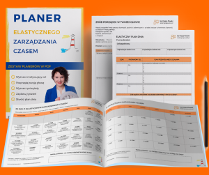 Planery Elastycznego Zarządzania Czasem Iza Krejca-Pawski